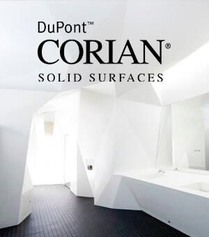 Искусственный камень DuPont Corian - изделия из искусственного камня