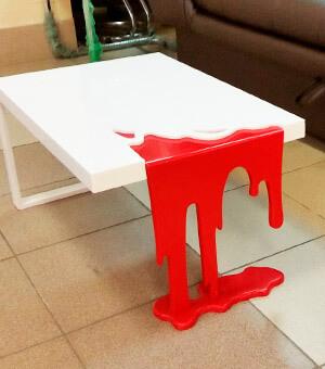 Дизайнерская мебель из искусственного камня - изделия из искусственного камня